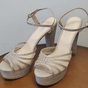 Rougue Hellium. Size 11. Rhinestones Heels
